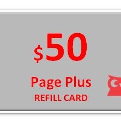 Page Plus $50