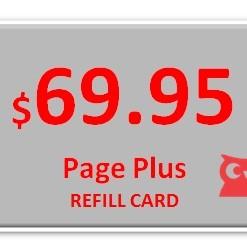 Page Plus $69.95