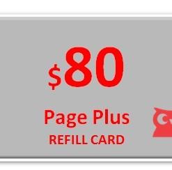 Page Plus $80