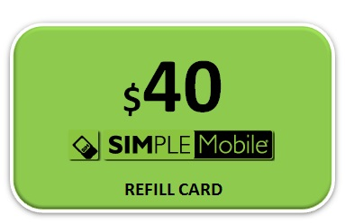 Simple Mobile $40