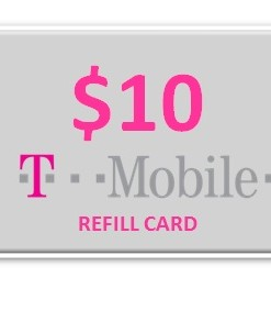 T-Mobile 10 Refill Card