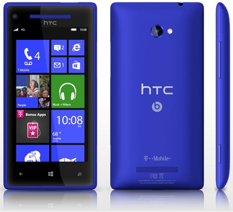 Htc 8x refurbished with ultra mobile activation www for T mobile refill